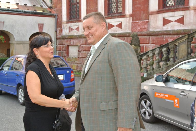 Martin Klika doprovázel ministryni práce a sociálních věcí po krajských sociálních zařízeních